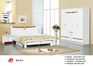 妆台 床 床头柜 衣柜-信简欧系列