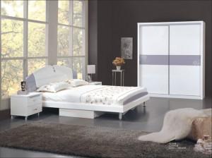 印花时尚 板式成套卧房家具-洛曼家具