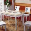 韩式田园 白色高档餐桌椅-优联特家具