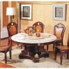 豪华实木 大理石餐桌椅-优联特家具