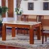 高档中式实木长餐桌-优联特家具