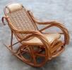九正家居 天然藤椅 休闲藤摇椅 印尼藤躺椅 纯手工编制藤椅 促销