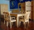 九正家居 特价餐桌 实木餐桌椅 柏木家具 餐厅家具 (不含椅子)