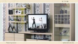 米兰印象整体家居-电视柜