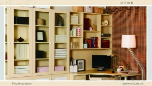 米兰印象整体家居-书柜