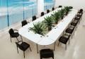 会议桌椅 鸿业家具